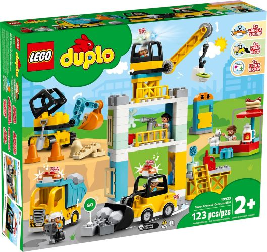 LEGO® DUPLO® Tower Crane & Construction - 10933