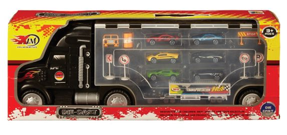 Truck Carry Case with Die Cast Cars