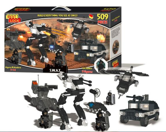 Building Block Set, 500-pc