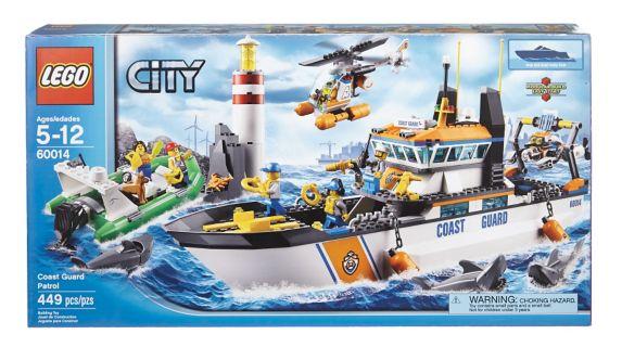 LEGO City, Bateau de la Garde côtière Image de l'article