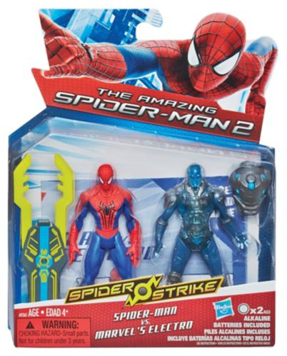 Spiderman vs. Electro Action Figure Set
