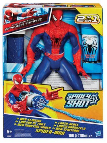 Web Shooting Spiderman Figure