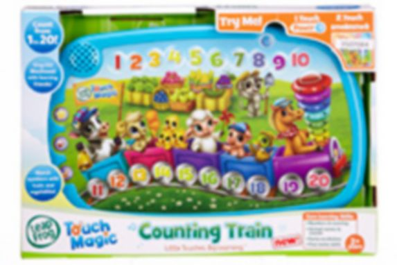 Magic Counting Train
