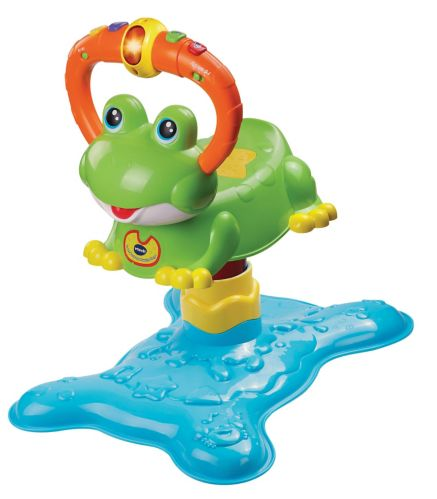Count and Collect Bouncing Frog