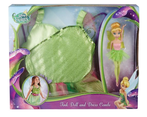 Disney Fairy Doll with Dress, 9-in