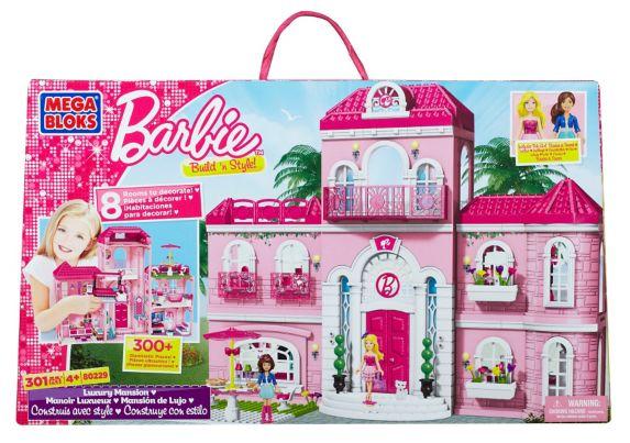Barbie Mega Bloks Luxury Mansion