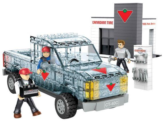 Canadian Tire Replica Ice Truck