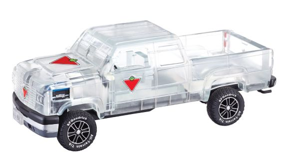 Canadian Tire Resin Ice Truck