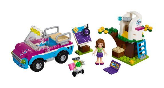 LEGO® Friends Olivia's Exploration Car, 185-pc