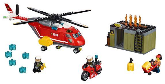 LEGO® City Fire Fire Response Unit, 257-pc