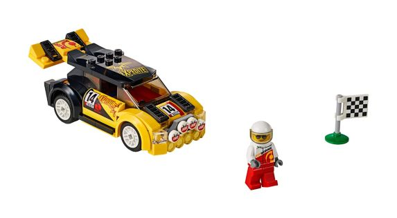 LEGO® City Great Vehicles Rally Car, 104-pc