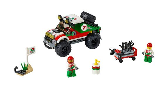 LEGO® City Great Vehicles 4 x 4 Off Roader, 176-pc