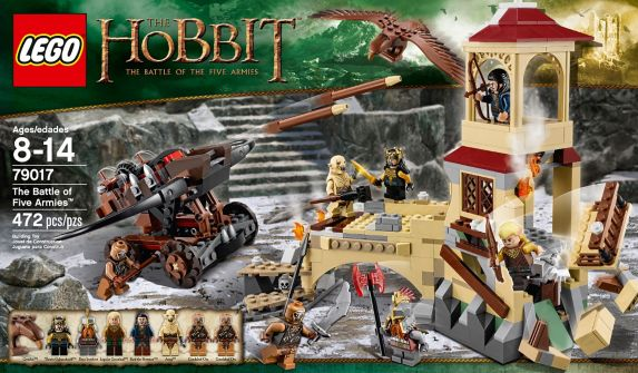 LEGO® Lord of the Rings Mirkwood Elf Army, 276-pcs