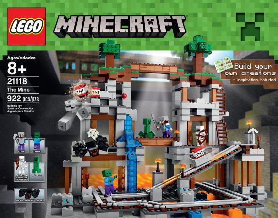 LEGO® Minecraft The First Night, 408-pcs