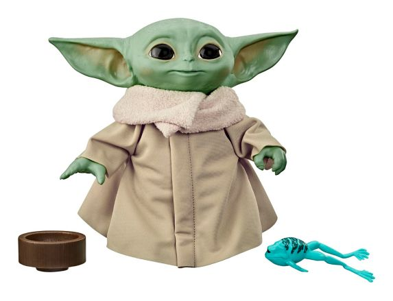 Star Wars The Mandalorian The Child Baby Yoda Talking Plush Toy