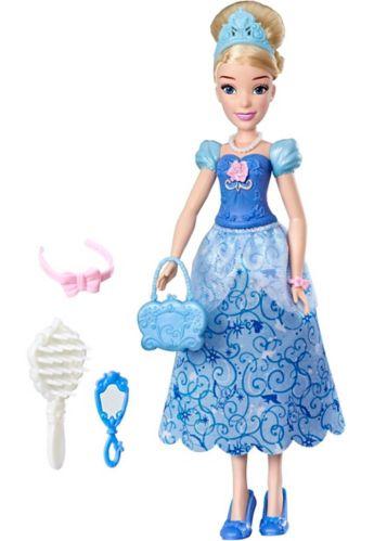 Poupée avec accessoires pour cheveux Disney Princess, choix varié Image de l'article