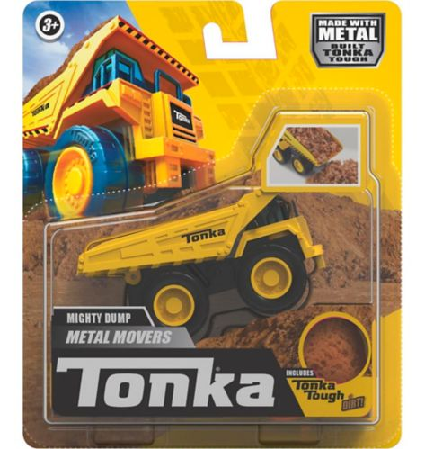 Tonka Metal Movers Single Pack - Mighty Dump Truck or Bulldozer, Assorted Product image