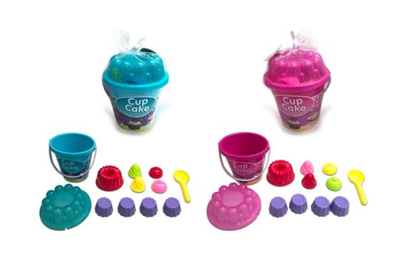Agglo Cupcake Beach Set, 12-pc Product image