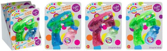 Boley Goofy Foot Light-Up Bubble Blaster Product image