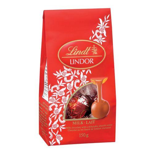 Chocolats au lait Lindor, 150 g Image de l'article