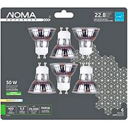 NOMA LED GU10 50W Dimmable Light Bulb, Soft White, 6-pk
