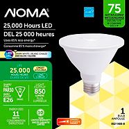 NOMA LED PAR30 Short Neck 75W EQ Dimmable Soft White Bulb