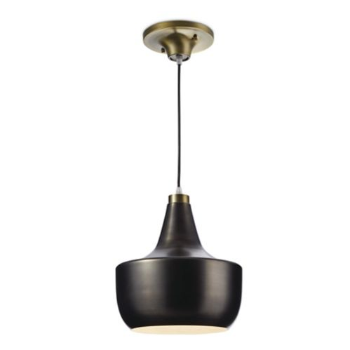 CANVAS Kole Gold & Pewter Plated Ceiling Pendant Product image