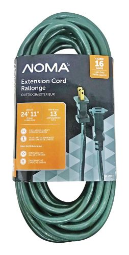 Noma Outdoor Extension Cord Light Duty