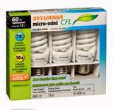 Sylvania 60W Equivalent 13W CFL Daylight Bulbs, 3-pk | Sylvania | Canadian Tire