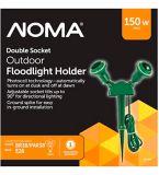 NOMA Double Socket Flood Light   NOMA   Canadian Tire