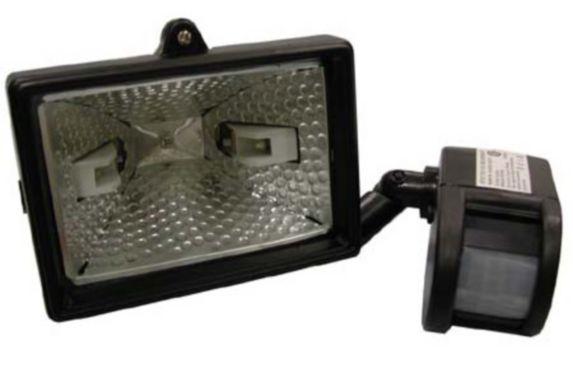 Motion Sensor 150W Halogen Flood Light