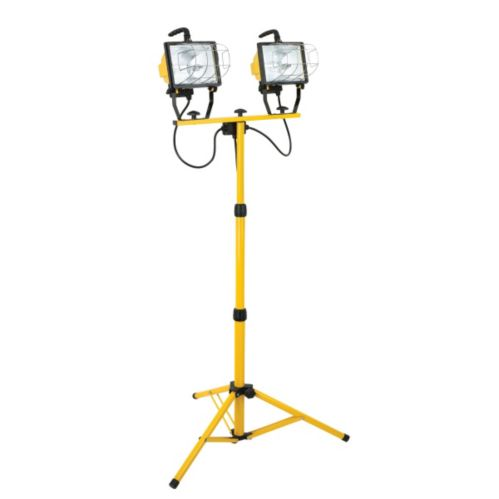NOMA 1000W Twin Head Halogen Tripod Work Light