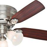 Hunter Low Profile Ceiling Fan, Brushed Nickel, 5-Blade, 42-in | Hunter | Canadian Tire