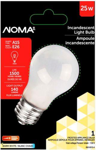 Ampoule de réfrigérateur de 25W de NOMA