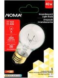 NOMA 40W Appliance Bulb, Clear | NOMA | Canadian Tire