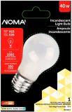 Ampoule d'électroménager de 40W NOMA, dépolie | NOMA | Canadian Tire