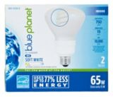 Blue Planet 65W-Equivalent BR30 27K CFL Bulbs, 2-pk | Blue Planet | Canadian Tire