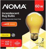 NOMA 60W Incandescent Bug Bulb, Yellow | NOMA | Canadian Tire