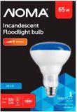 NOMA 65W 75R30 Incandescent Flood Light Bulb, Blue | NOMA | Canadian Tire