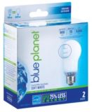 Blue Planet 15 W Covered A-line Spiral Light Bulb, 2 pack | Blue Planet | Canadian Tire
