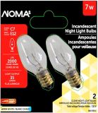 NOMA 7W Incandescent Night Light Bulb, Clear | NOMA | Canadian Tire