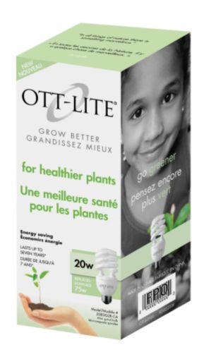 Ottlite Natural Light Supplement 20w Plant Bulb Product image