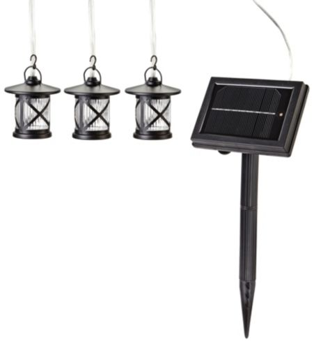 Solar Lantern String Lights Canadian Tire