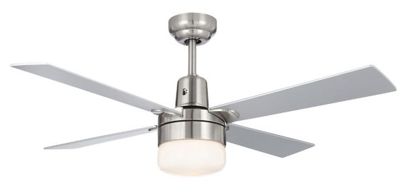 NOMA Loen Ceiling Fan with Remote, 4-Blade, 42-in