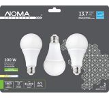 Ampoule à DEL NOMA A21, 100 W, intensité variable, blanc doux, paq. 3 | NOMA | Canadian Tire