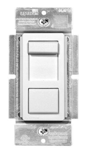 Leviton LED & CFL Universal Dimmer, White Product image