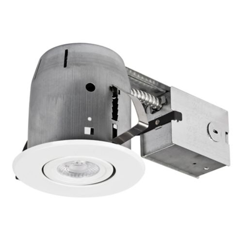 NOMA LED Recessed Lighting Kit, 4-in