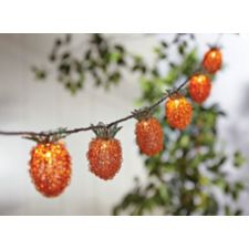 Canvas Pineapple Outdoor String Lights Canadian Tire