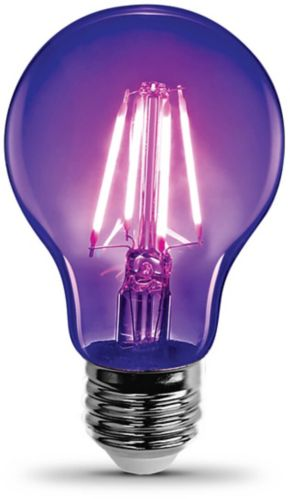 Feit Electric LED A19 9W Black Light Bulb