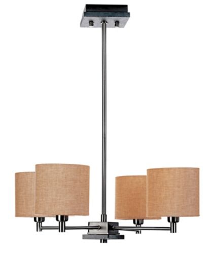 CANVAS Byron Chandelier, Satin Nickel Product image